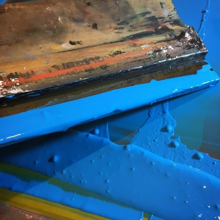 Making stuff - screenprinting, printmaking - robschwager | ello