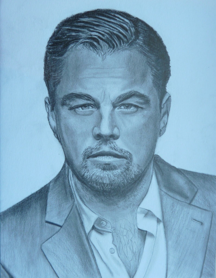 Leonardo Dicaprio pencil portra - casdouwsma | ello