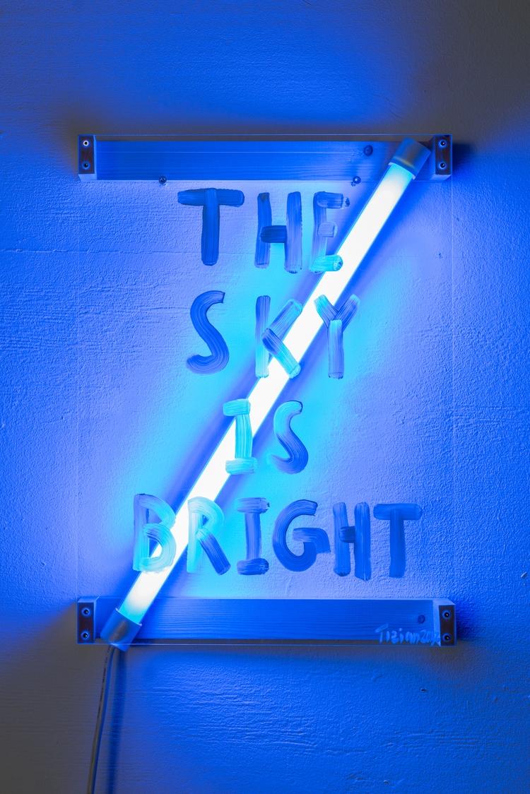 Sky Bright, 2017, 39x53x8cm - tizianbaldinger - tizianbaldinger | ello