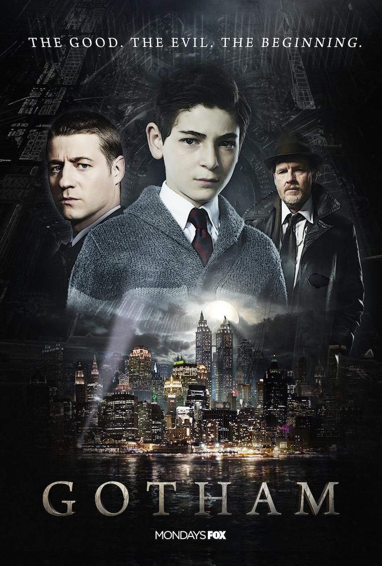 Gotham poster contest entry. wi - marksolario   ello