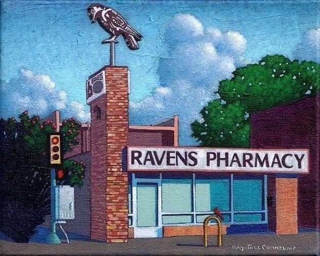 Ravens Pharmacy 8 10 inches acr - raymelcornelius | ello