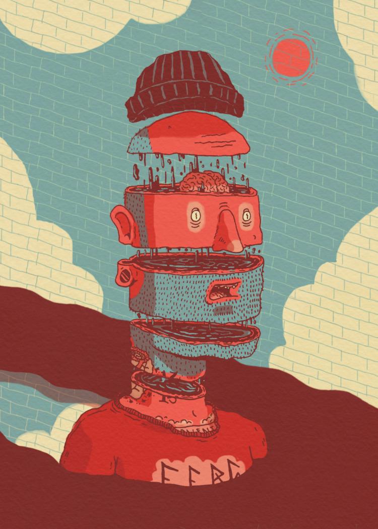 Moving - editorial, illustration - jefflowryillo | ello