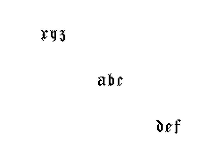 Brodat - typeface, 8bit - debarca | ello