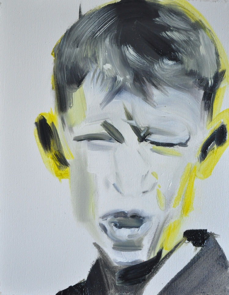 KING KRULE#portrait#oil#canvas - judytakrawczyk | ello