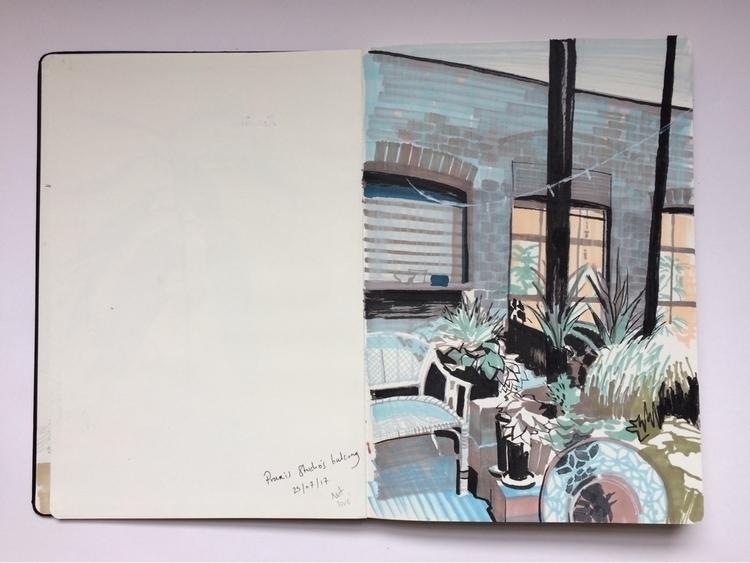 Praxis studios terrace, Stoke N - alexgreendraws | ello