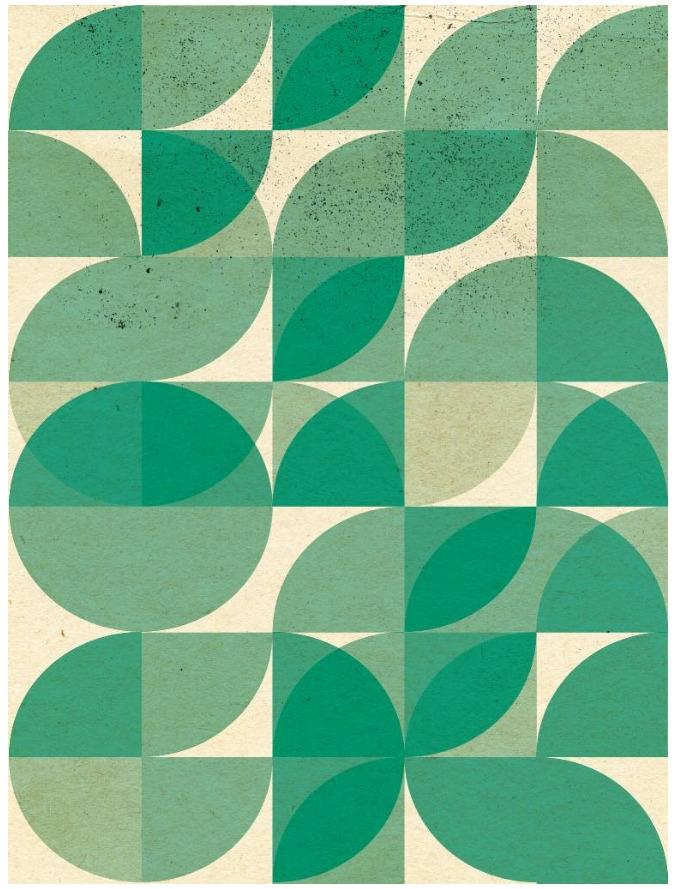 design, geometric, green, flower - jamespassos | ello