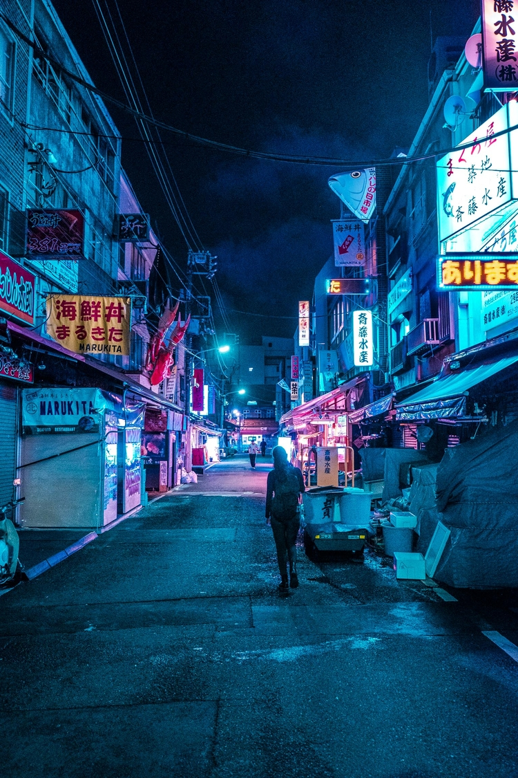 tokyo, japan, fujifilm, tsukiji - eastlos | ello
