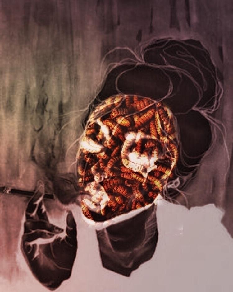 Fireproof - collage, collageart - noirjournal   ello