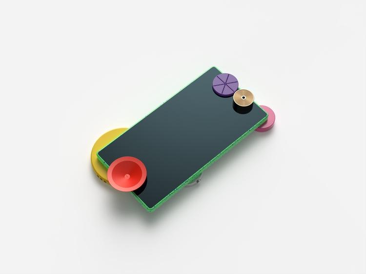 Modular - phone, smart, 3d, render - chengtaoyi | ello