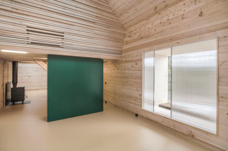 house built wood/ plant-based/  - elloarchitecture   ello