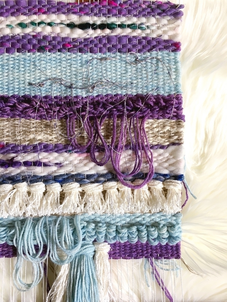 WIP ~ - weaving, textile, fiberart - amandajfrench | ello