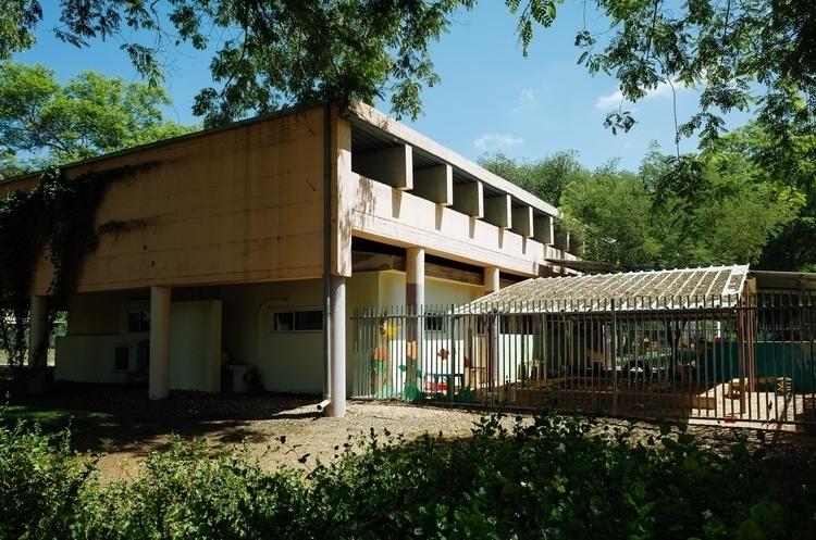 Bunker built Kindergarten. Kibb - sh-i | ello