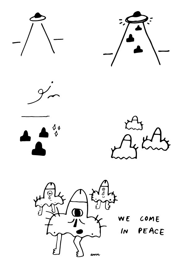 peace lol - comic, highcomix, illustration - anzooo | ello