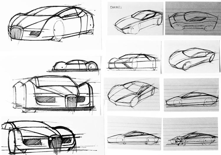 High-level thumbnail sketches M - jamesowendesign | ello
