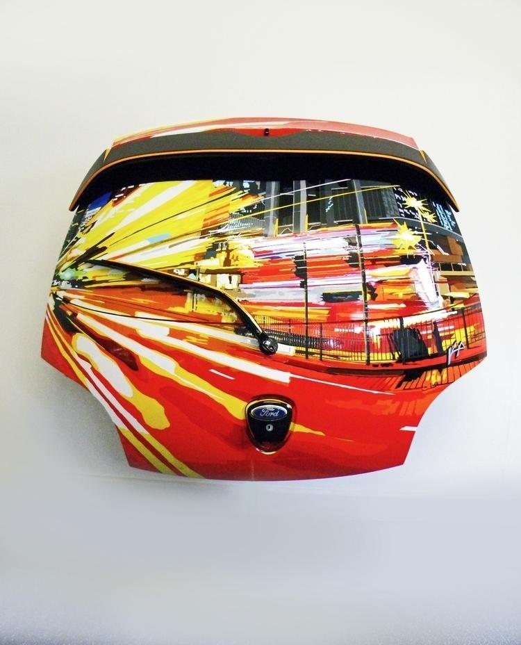 Rear Lights Joel Clark - creativedebuts - creativedebuts | ello