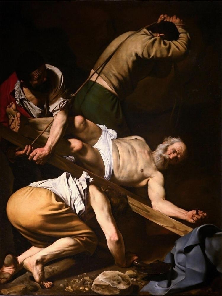 Crucifixion Saint Peter Caravag - bitfactory | ello