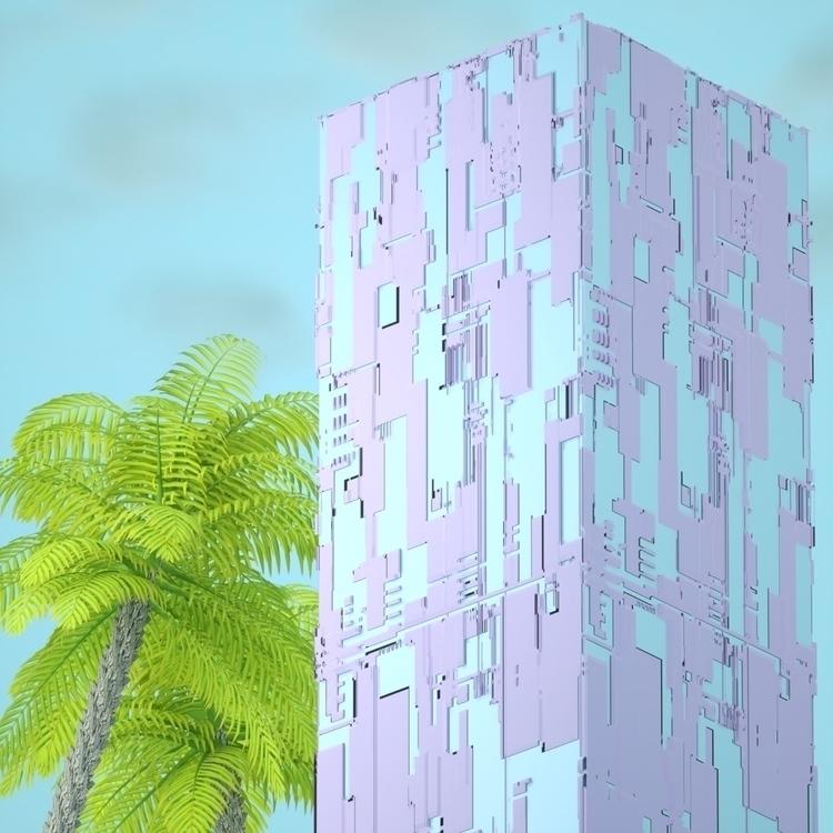 digitalart, abstract, artdaily - nickjaykdesign   ello