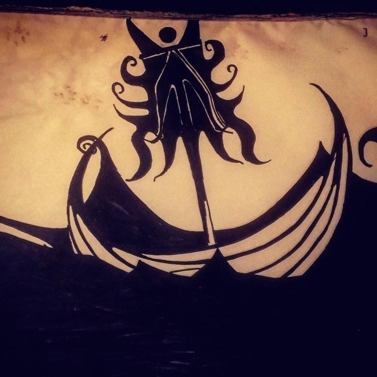 Rough seas. Submitted [Posture  - jupitercyclops | ello