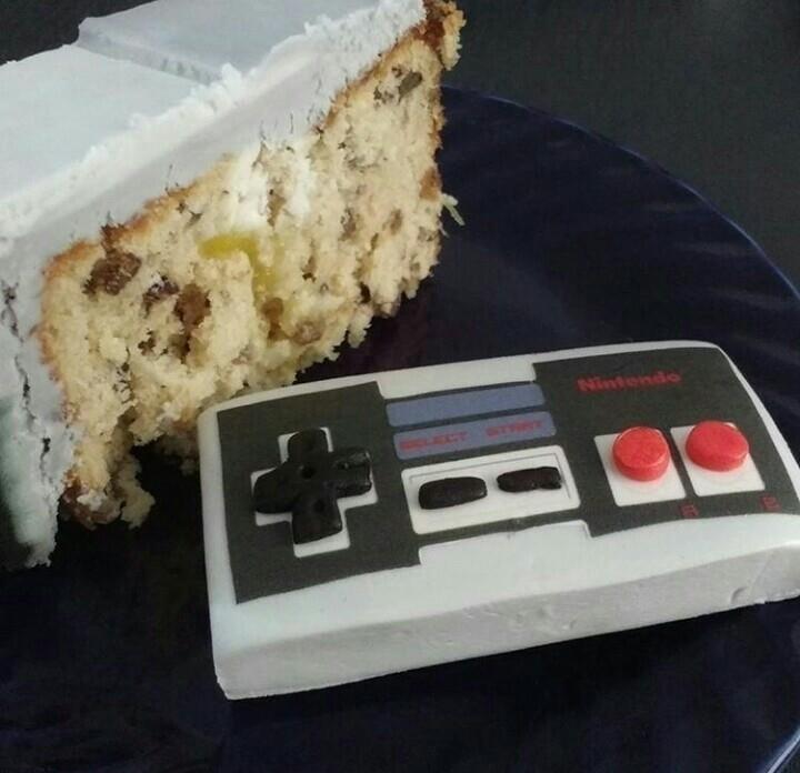 nomnom - cake, snes, nintendo - sarasadventure | ello
