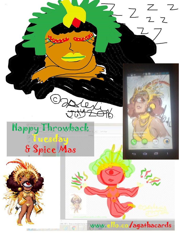 Happy Tuesday:bangbang: Throwba - agathacards | ello