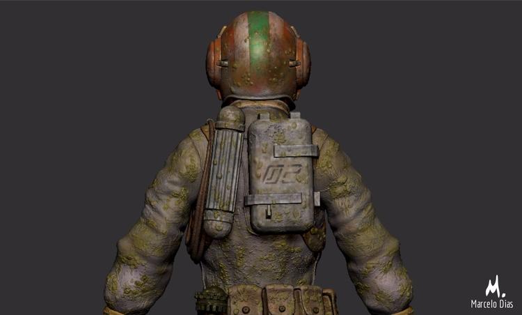 Tribute Moebius - soldier Simpl - marcelo_d | ello