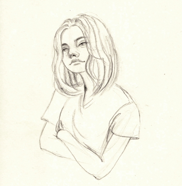 Good ya - drawing, doodle, sketch - j0eyg1rl | ello