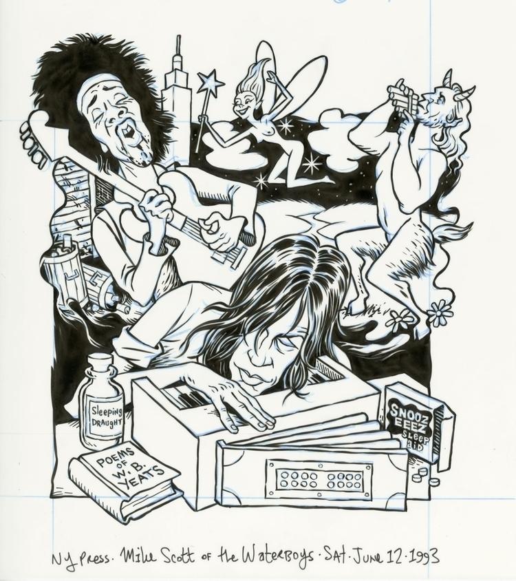 FLAT FILES, 1993: MIke Scott Wa - dannyhellman | ello