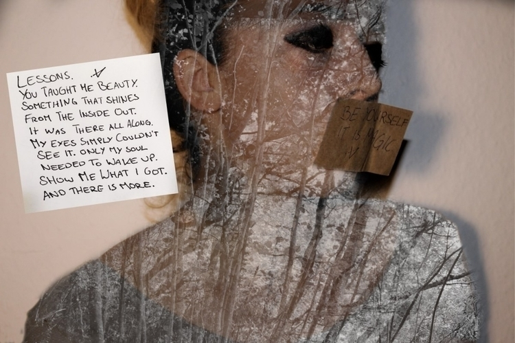 collage, photography, blackandwhite - victoriainthewoods | ello