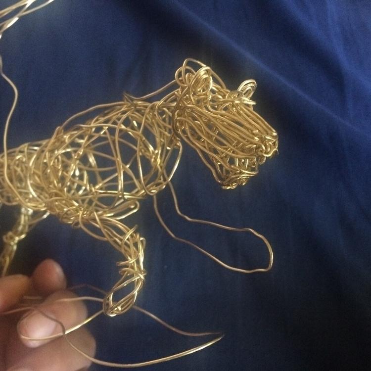 lion!  - WireMcCoy, wirearT, wire - jwilliams575   ello