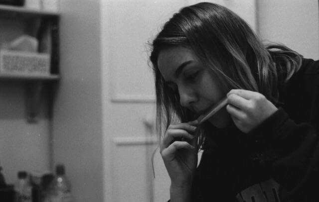 care - weed, photography, blackandwhite - acid_al | ello
