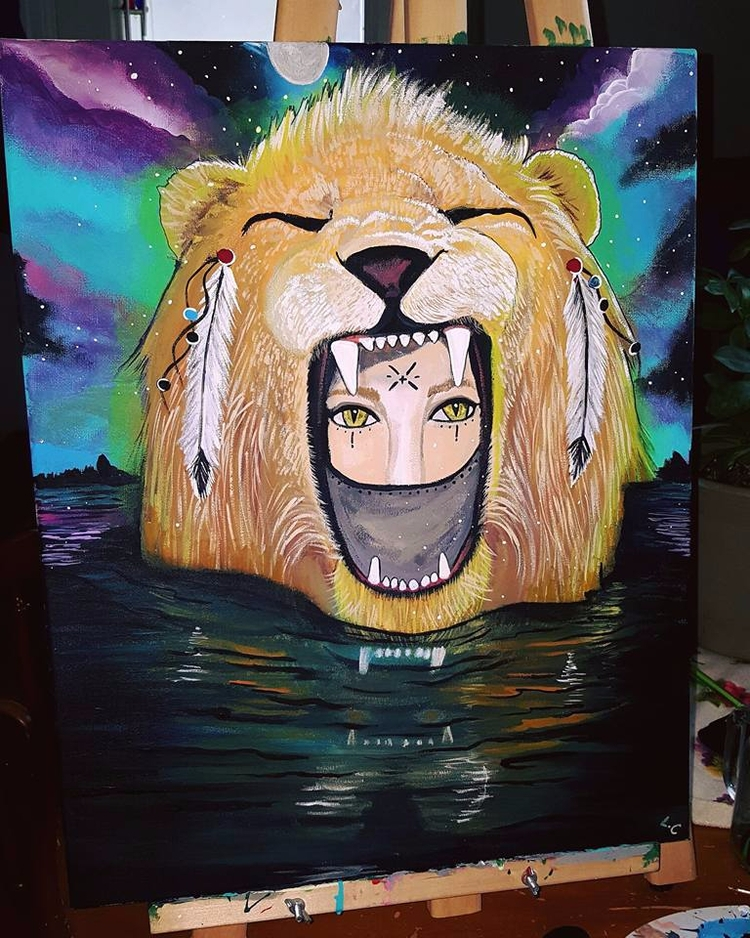 Lioness. Woman powerful beings - lizzywhothefunkc | ello