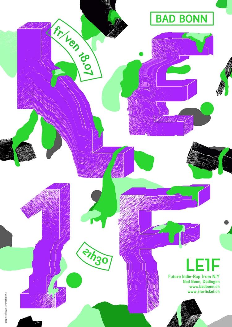 TBT :) poster designed 2014 Le1 - jeromebizien | ello