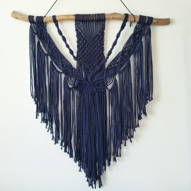 happy navy dyed cord turned sol - bohodreamer | ello