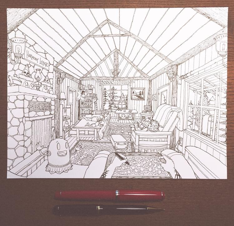 wife rented Harmony Lodge cabin - junkyardsam | ello