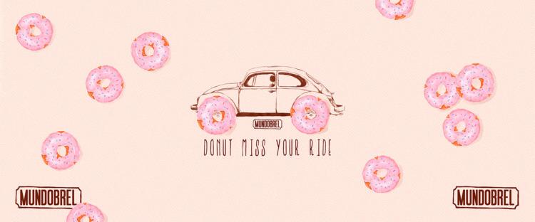Mundobrel - illustration, art, donut - mundobrel | ello