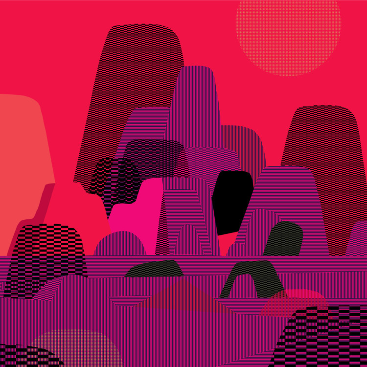 rocks patterns - illustration - ebencom | ello