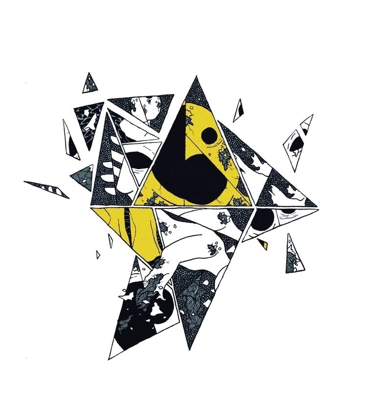 Freno. Wasabi 7 - art, ink, ilustration - freno | ello