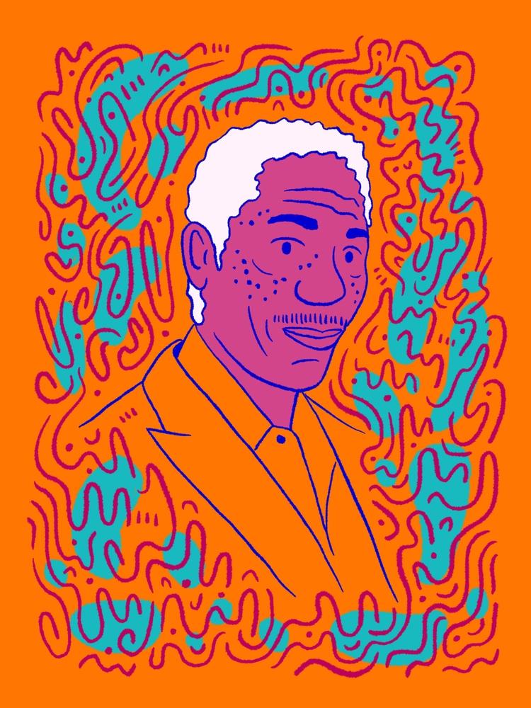 Freeman - illustration, illustrator - heybop | ello