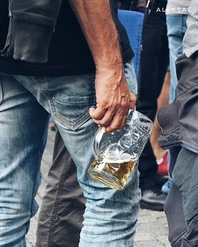 Blue jeans Beer - summer#festival - aleksaleksa | ello