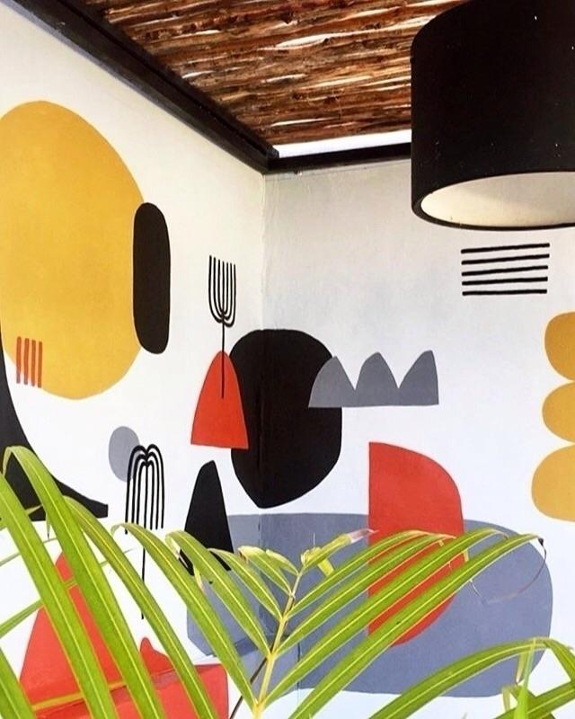 Mural Mexico HQ 🤙:type_3::palm - holalou | ello