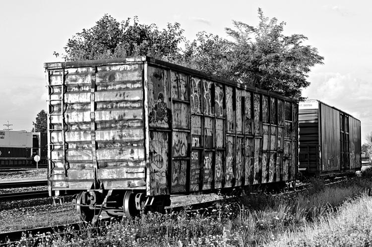 freight car - photography - kenlong | ello