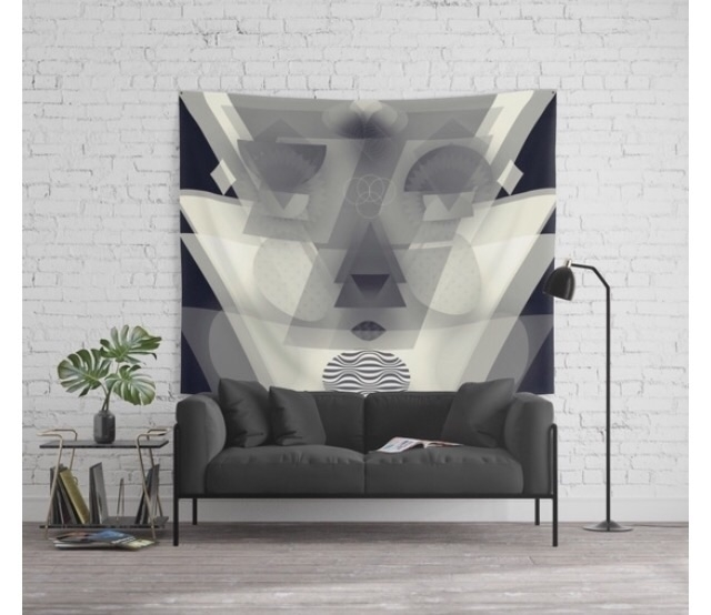 Abstract wall tapestry sale spe - trinkl | ello