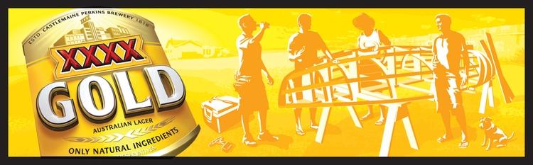 XXXX Gold - art, illustration, stevevanderhorst - stevevdh   ello