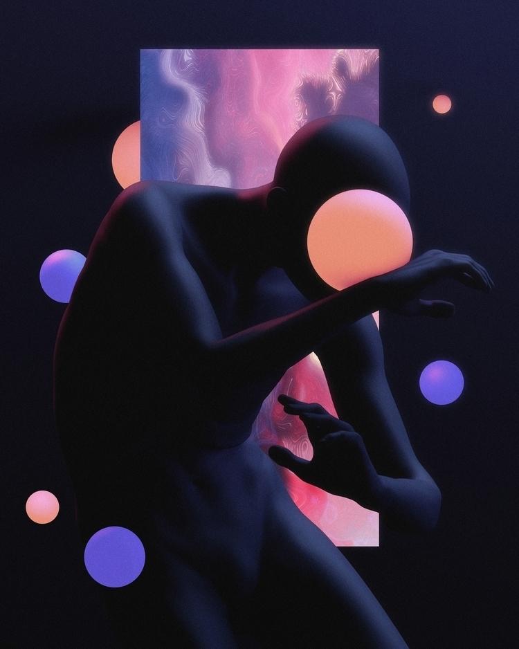 -Dazzled- ''flow'' art practice - aeforia | ello