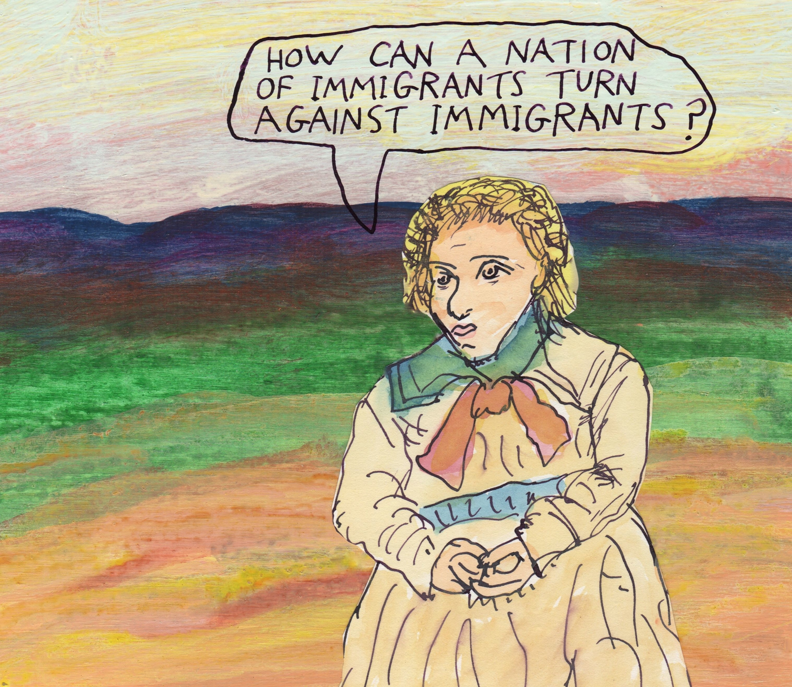 immigrants, immigration - stoicmike | ello
