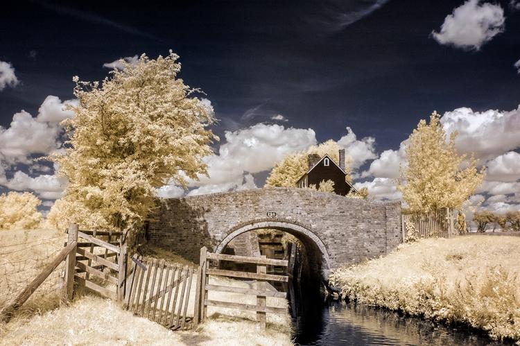 Somerton lock - infrared, IR, landscape - toni_ertl | ello
