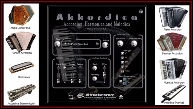 Akkordica Virtual Accordion, Ha - syntheway | ello