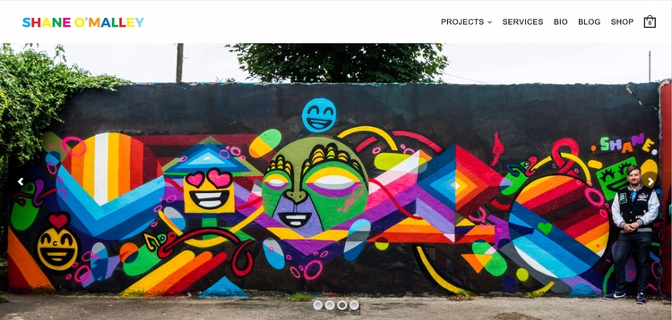 updated website projects Artwor - shaneomalleyart | ello
