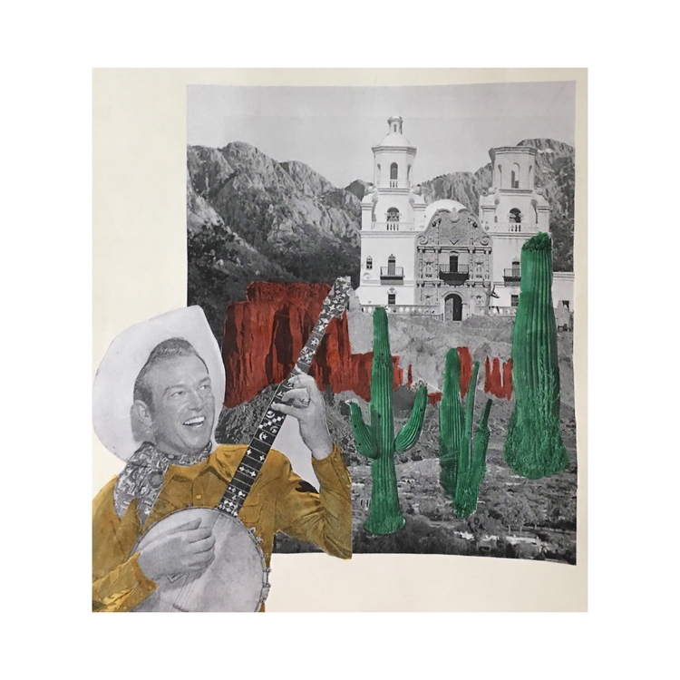 arizona. july 2017 - collage, vintage - unhannahm | ello