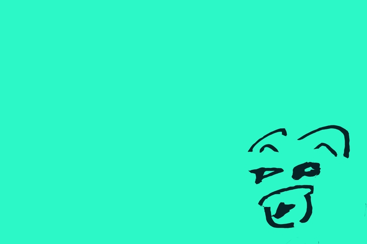 Bear (Mint Green - art, design, illustration - jkalamarz | ello